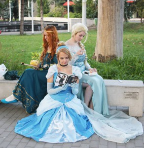 Disney hercegnők csapata