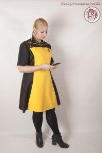CatleenCosplay Star Trek öltözékben