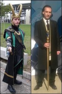 Loki, kétféle megjelenési formájában a sok közül