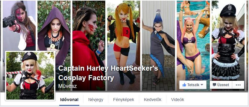 Harley facebook oldala